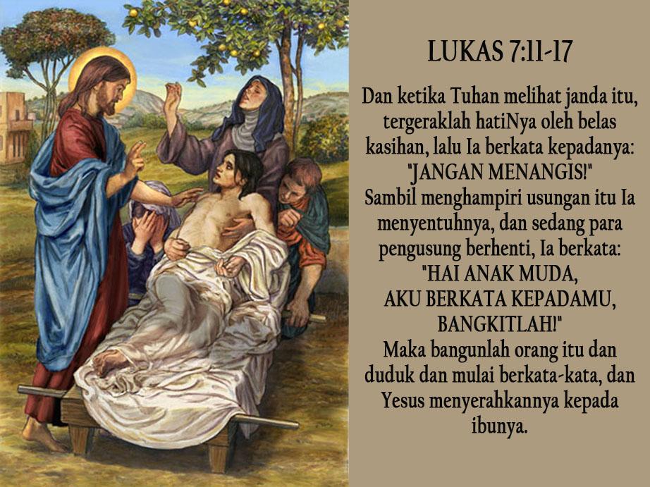 Yesus Membangkitkan Anak Muda Di Nain Sscc Indonesia Inspirasi